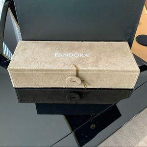 Pandora Suede Jewelry Storage Box